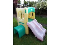 Little Tikes Twin Slide Tunnel Climber Garden Slide/Climbing Frame/Tunnel - Great condition!