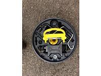 Renault Clio spare wheel jack set