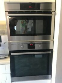 AEG Competence single oven & AEG Micromat_combi oven for sale
