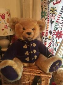 HARRODS COLLECTIBLE MILLENNIAL TEDDY BEAR 14ins