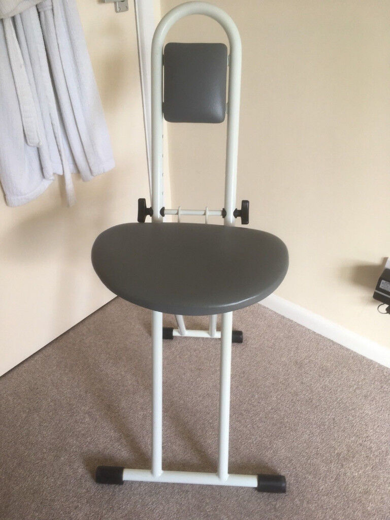 Fine Folding Perch Stool For Elderly Disabled Living Aid In Andover Hampshire Gumtree Machost Co Dining Chair Design Ideas Machostcouk