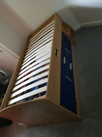 Single high sleeper bed for sale