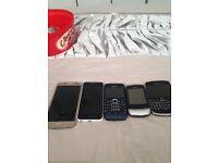 iPhone, Samsung, Htc,Nokia,blackberry