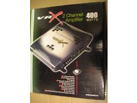 VR X No. 4002c 400 Watt 2 Channel Amplifier.