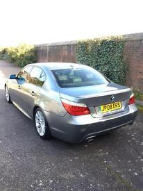 Bmw 520d m sport-2008-4dr saloon-grey-Hpi clear-low miles-part exchange welcome