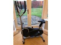As new condition 2 in 1 Elliptical Cross Trainer and Exercise Bike / exercise cycle