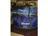 Berghaus Air 8 tent and air porch