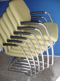 Boss fabric chairs x6 in stock (Delivery)