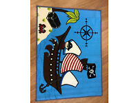 New Boys Pirate Bedroom Playroom Rug Mat