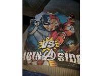 Marvel avengers size 8 years old to short sleeved