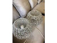 Pair of Laura Ashley bedside lamps **open to offers**