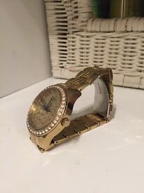 Gold women Guess watch for quick sale!