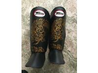 Twins shin guards Muay Thai MMA size L