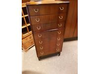 G Plan -E Gomme Librenze Chest of 7 Drawers - In Lovely Condition - Original Piece of Furniture