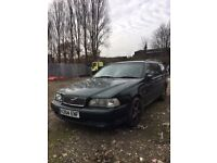 Volvo V70 XT Automatic auto 7 seater estate Green Leather drives very well