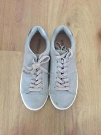 Blue H&M trainers