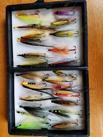 24 hand tied salmon and sea trout flies