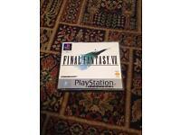 Final Fantasy VII - Sony PlayStation game