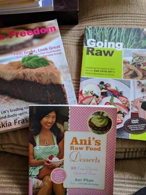 THE BEST RAW FOOD RECIPE BOOK BUNDLE! Look good feel great 3 x books