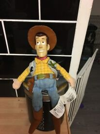 Small woody doll from toy story