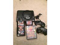 Sega Megadrive 16bit console and games