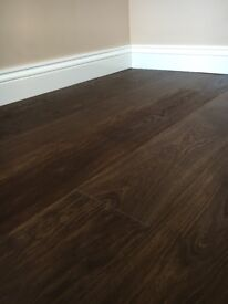 Super sale on 190x22/6mm engineered oak extreme Matt oiled flooring with UV oil