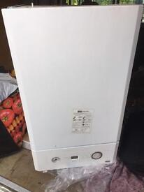 Heatline Capriz Plus 24kw Combi Boiler Flue & Clock -