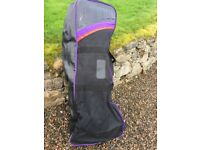 Golf bag travel cover, Taylor made, well padded, some scuffs but good condition