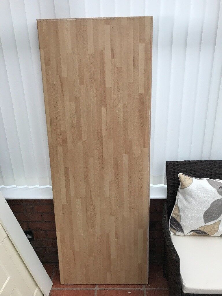 Beech Block Wood Laminate Kitchen Worktop