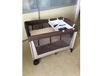 New baby or grandchild???? Baby at Xmas ??? Cot + accessories, high chair.