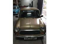 Austin Mini Piccadilly 998cc Manual 2 door. Lovely example.