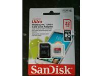 32GB Ultra Micro SDHC Card -