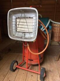 Workshop/patio gas heater