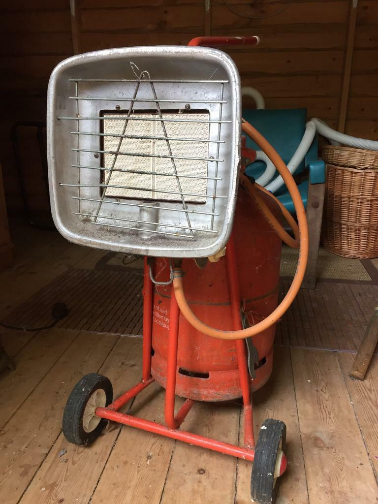 Workshop/patio gas heater