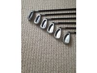 SRIXON XX10 IRONS- GRAPHITE SHAFT- 5-PW