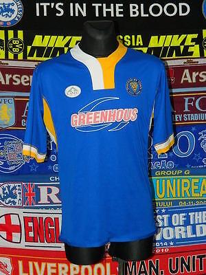 4.5/5 Shrewsbury Town adults XXL 2007 rare football shirt jersey trikot soccer image
