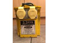 3.3 kva 110v transformer with twin output