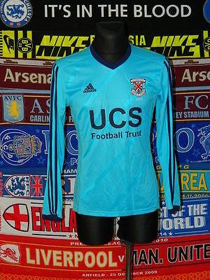 5/5 Clydebank adults S 2014 #4 MINT football shirt jersey trikot image