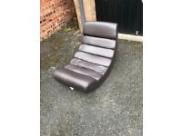 Leather rocking chair (free local delivery)