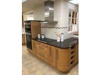 Kitchen display- Broadoak Natural