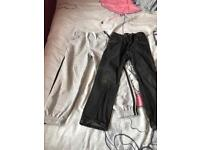 2 pairs of boys trousers.