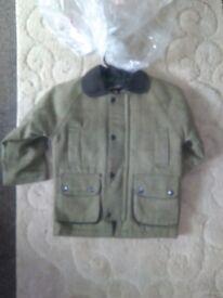 Kids tweed coats 4/5 and 6/7 yeas