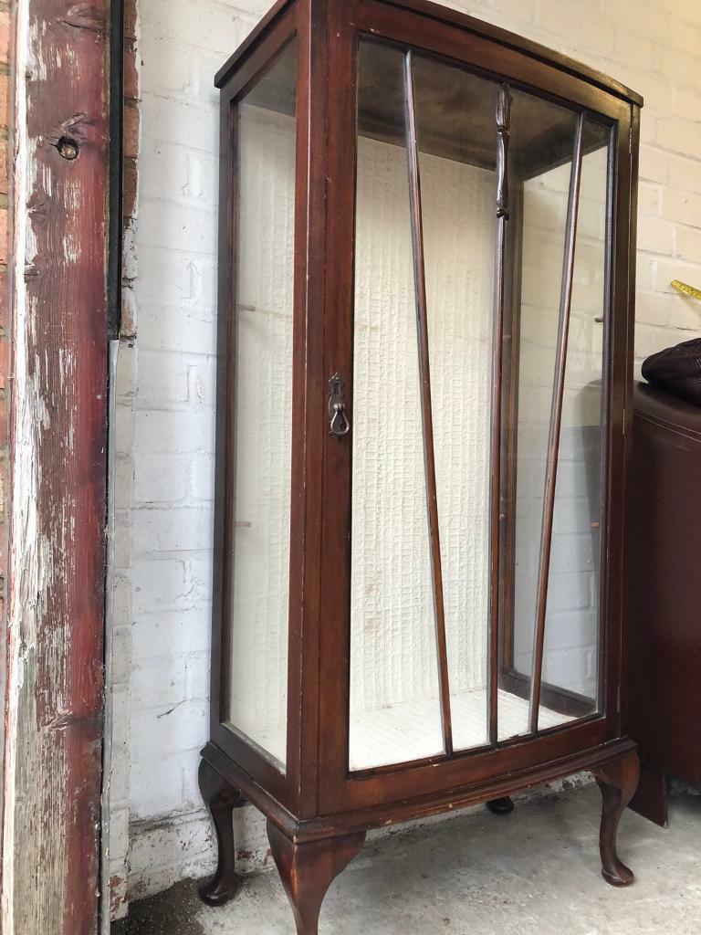 Cool Antique Curio Style Glass Fronted Display Cabinet In Crystal Palace London Gumtree Download Free Architecture Designs Embacsunscenecom