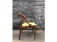 Vintage mid century teak chair