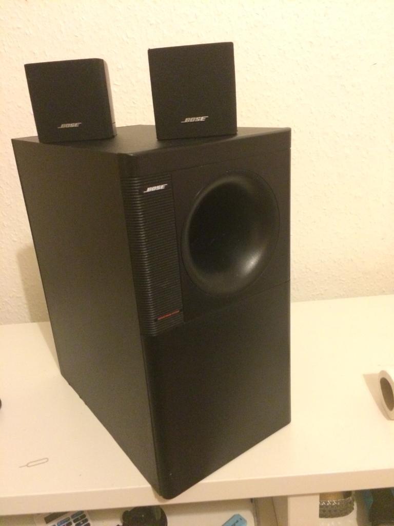 Bose Acoustimass 3 Series Iv Speaker System For Sale In Lewisham V Black