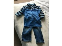12-18 month old girls blue clothes