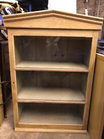 Antique pine (Victorian) dresser top / bookcase