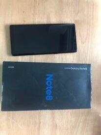 Samsung Galaxy Note 8 - Midnight Black - 64GB
