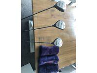 Golf Club Set: Howson Driver, 3 Wood and 5 Wood