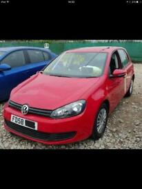 2011 vw golf parts breaking bcg red
